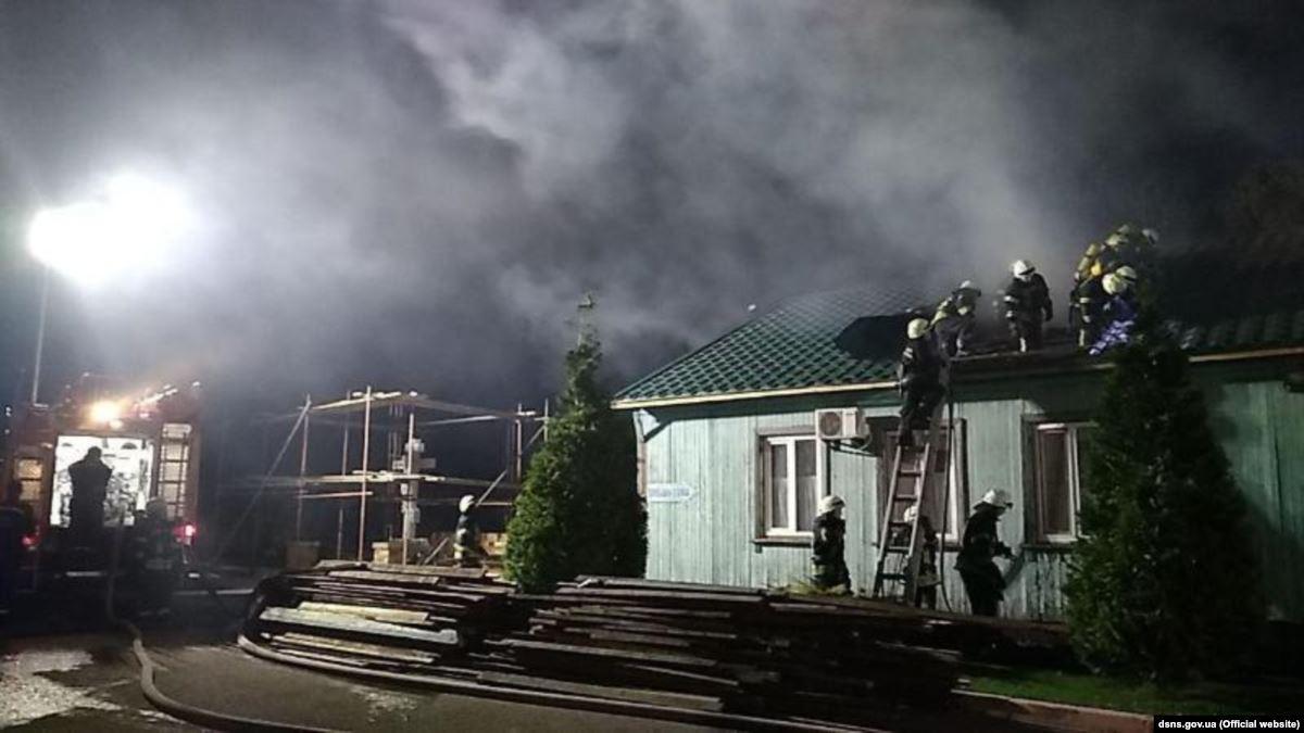 В Одесі сталася пожежа у чоловічому монастирі