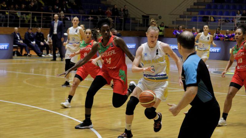 Баскетбол: жіноча збірна України виграла матч кваліфікації Євробаскета-2021