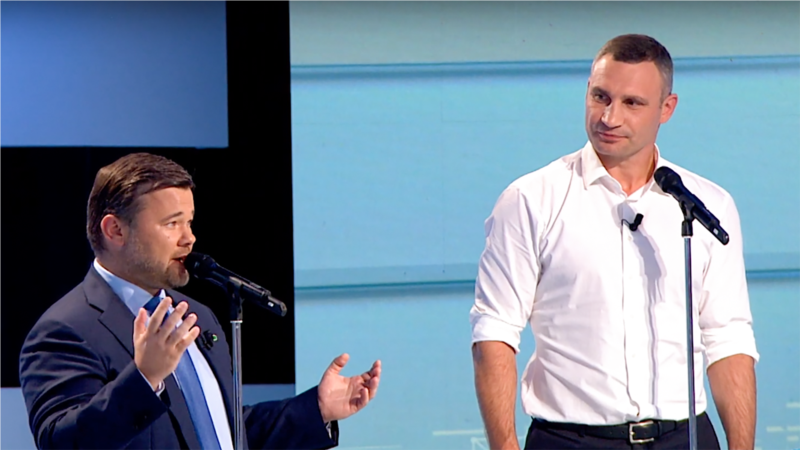 Кличко написав заяву в Нацполіцію на «самоправство» Богдана