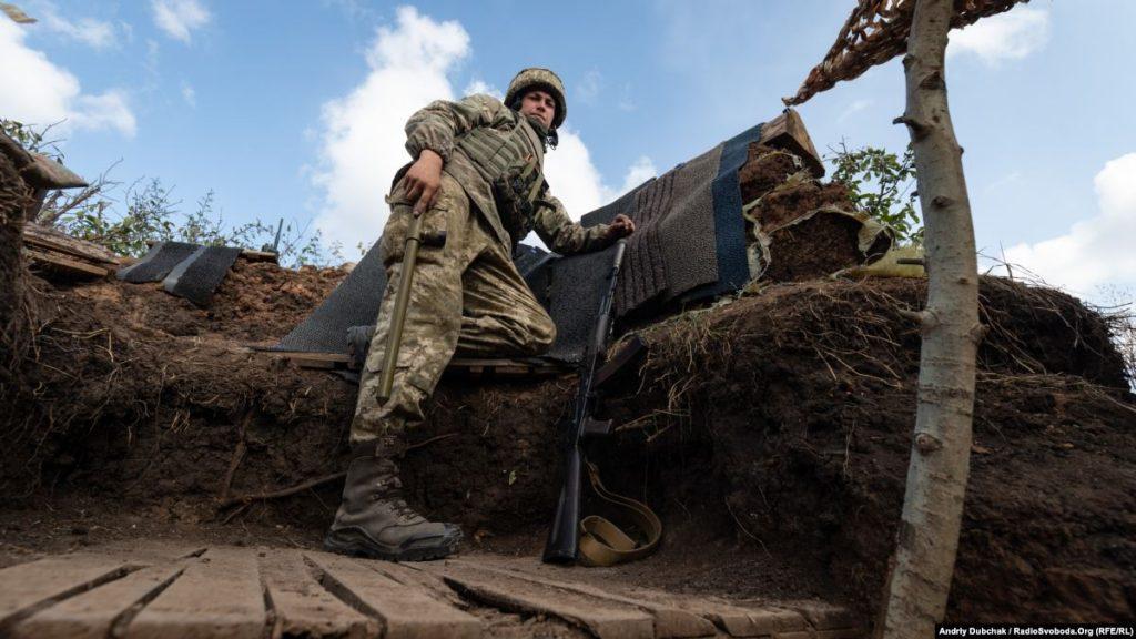 Минулої доби на Донбасі загинув український військовослужбовець