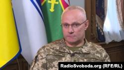 Генерал-лейтенант Руслан Хомчак, начальник Генштабу – головнокомандувач Збройних сил України