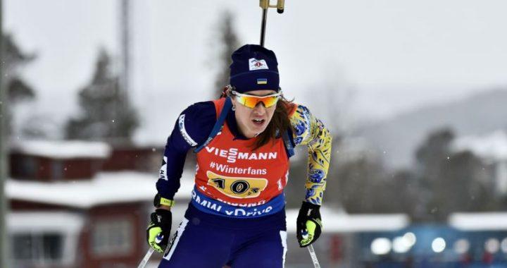 Біатлон: Юлія Джима принесла Україні першу медаль сезону