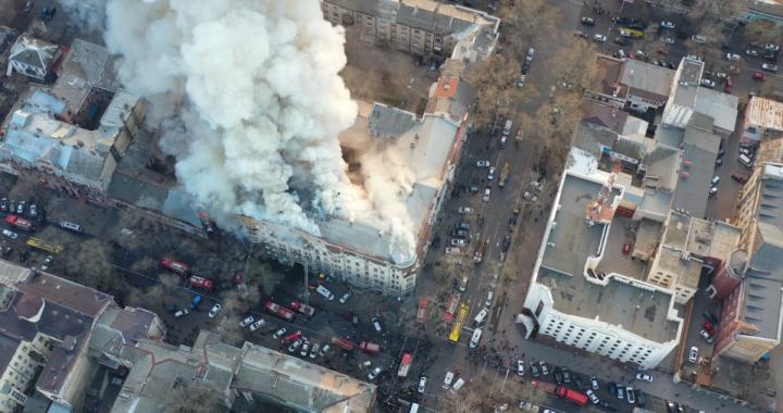 Кількість загиблих під час пожежі в Одесі зросла до 5 осіб – ДСНС