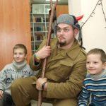 Как на Донбассе колядовал черт в ватнике