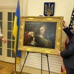 Картина «Закохана пара», викрадена нацистами в 1943 році, вже на території України