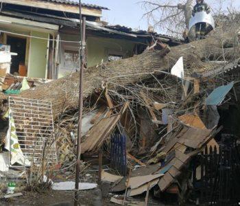 Одна людина загинула, одна постраждала – наслідки урагану на Одещині