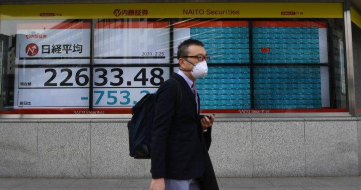 Світові ринки падають другий день поспіль через поширення коронавірусу в Європі