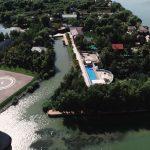 Вертолітний майданчик та церква: «Схеми» показали, як ексдепутат Рибаков облаштувався на березі Дунаю