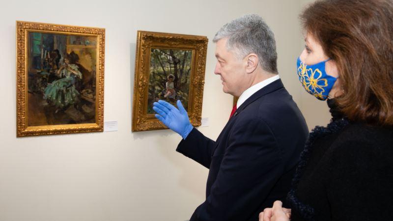 «А музей чим винен?»: соцмережі про ДБР і виставку картин Порошенка