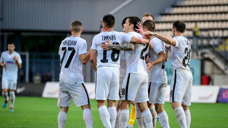 Футбол: «Зоря» підписала контракти з бразильцем Жуніньйо і українцем Назариною