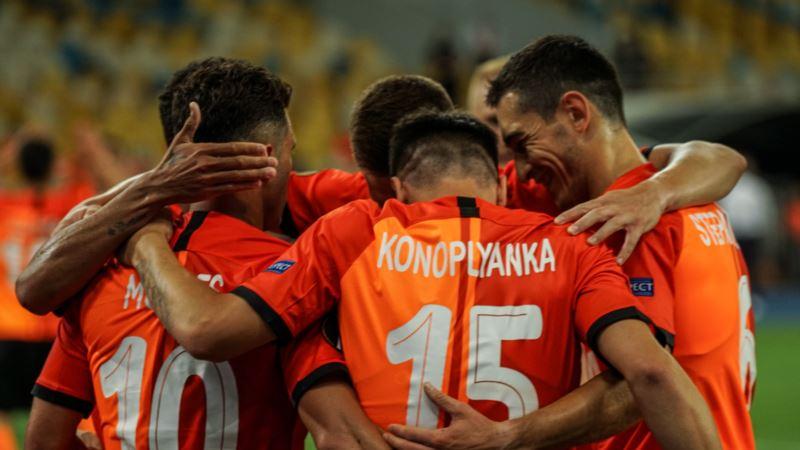 Футбол: «Шахтар» вийшов у півфінал Ліги Європи