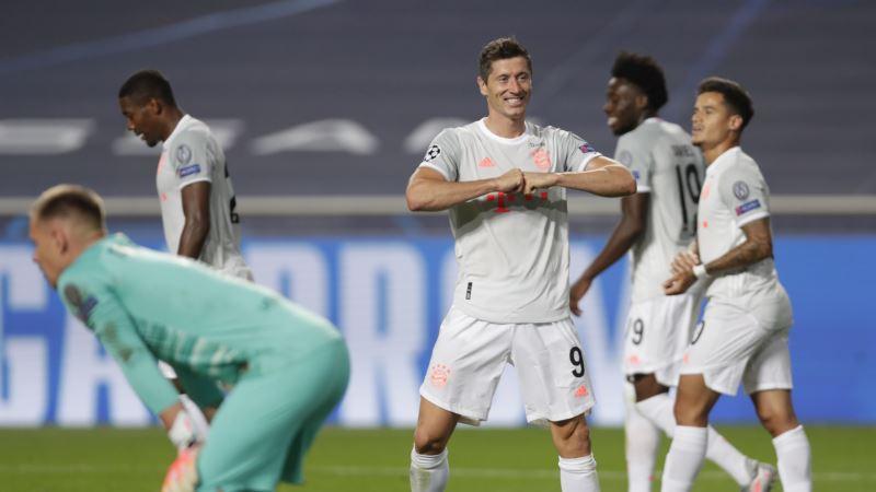 Ліга чемпіонів УЄФА: «Баварія» впевнено здолала «Ліон» у півфіналі
