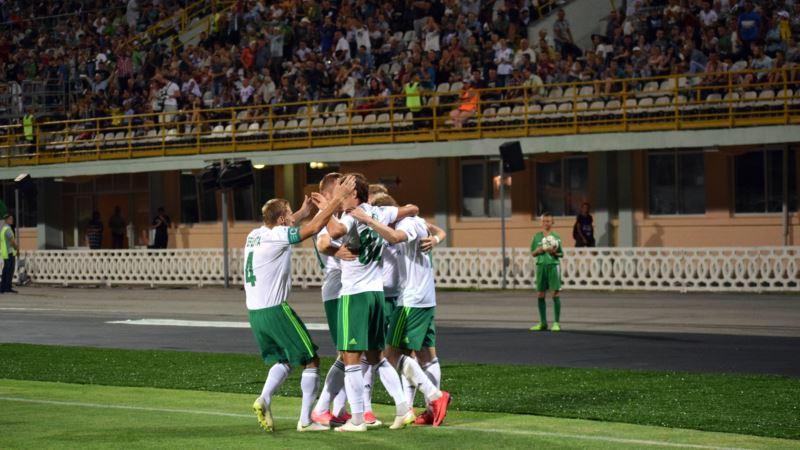 «Ворскла» вийшла на перше місце турнірної таблиці чемпіонату України з футболу