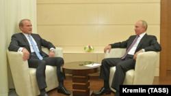 Зустріч Володимира Путіна і Віктора Медведчука, 6 жовтня 2020