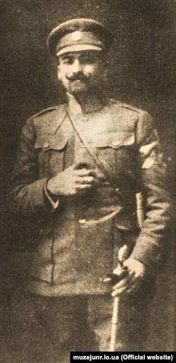 Український військовий діяч, полковник Армії УНР Петро Болбочан (1883–1919