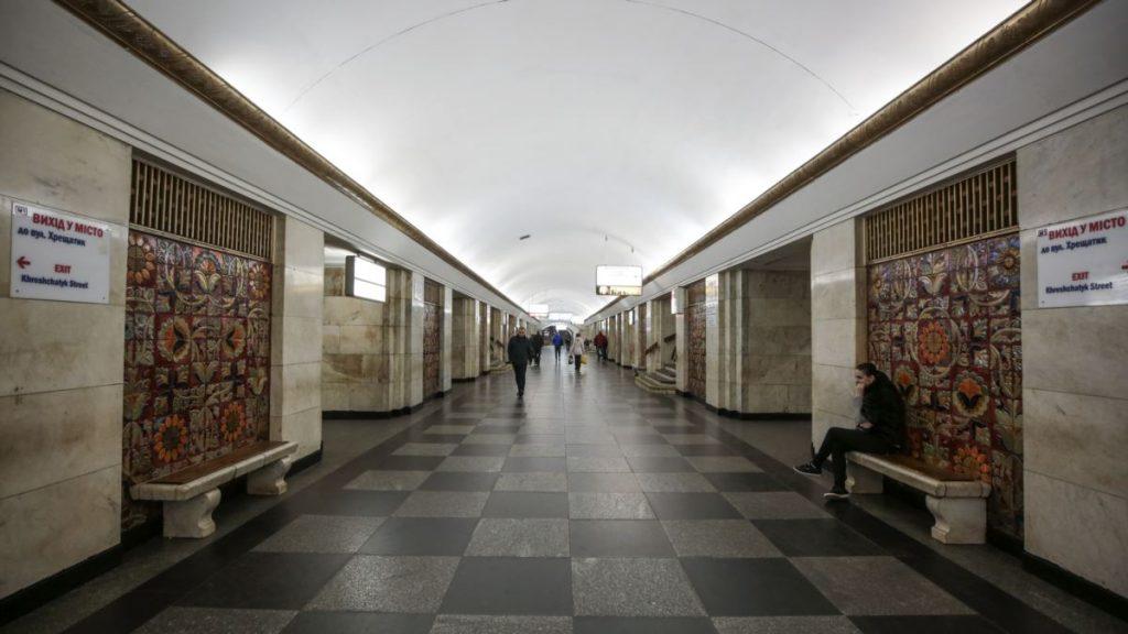 Київ: станцію метро «Хрещатик» перевірили і відкрили