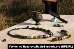 На Хортиці виявили 2500-річне поховання скіфського воїна
