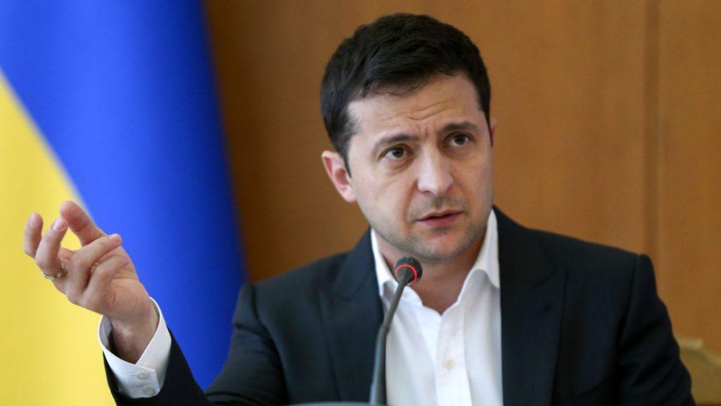 Зеленський записав відеозвернення із «Феофанії»