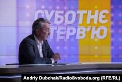 Олександр Ткаченко в студії Радіо Свобода