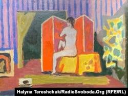 Роман Сельський, «Натурниця на червоному», 1970 рік
