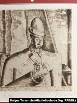 Осип Васьків, «Портрет Малевича» – ?, 1914 рік