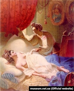 Тарас Шевченко. «Марія», 1840 рік. За поемою Олександра Пушкіна «Полтава»