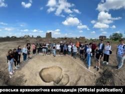 Екскурсія на розкопках