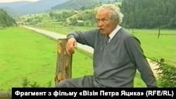 Петро Яцик у рідних Карпатах