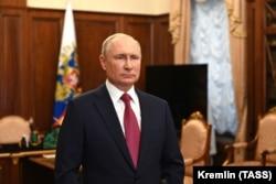 Президент Росії Володимир Путін, 25 червня 2021 року