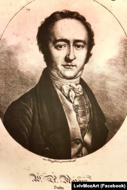 Портрет Франца Ксавера Моцарта (1791–1844), сина Вольфганга Амадея Моцарта
