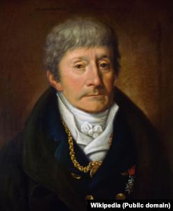 Портрет композитора Антоніо Сальєрі художника Жозефа Віліброрда Маглера 1815 року