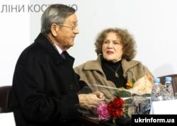Іван Дзюба і Ліна Костенко. Київ, 2012 рік