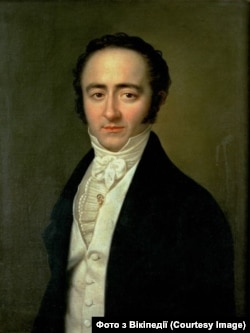 Портрет Франца Ксавера Моцарта. Робота Карла Готліба Швайкарта