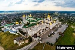 Почаївська лавра, сучасний вигляд. Православний чоловічий монастир у місті Почаєві Кременецького району Тернопільської області