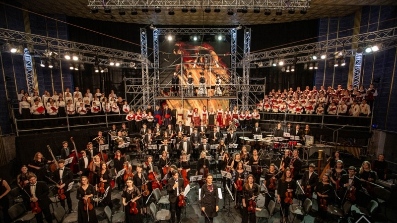 «Ковчег «Україна»: майже 200 музикантів представлять українську культуру десяти століть