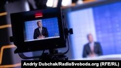 Павло Ґрод у студії Радіо Свобода