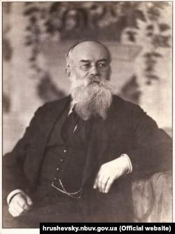 Михайло Грушевський (1866–1934) – історик, громадський та політичний діяч. Голова Центральної Ради Української Народної Республіки (1917–1918) /